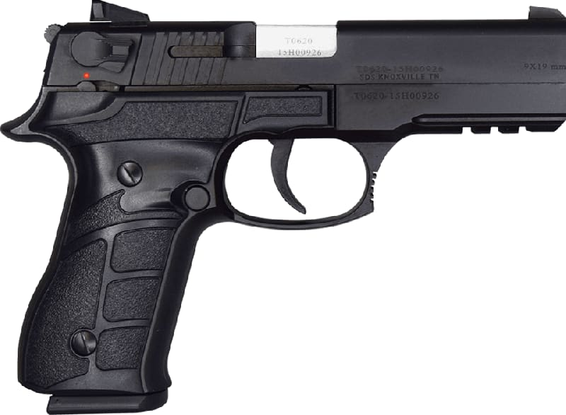 "Tisas ZIGANA K Semi-Auto Pistol, 9mm, Traditional Double Action 4.15"" BBL W / Two 15 Rd Mags"