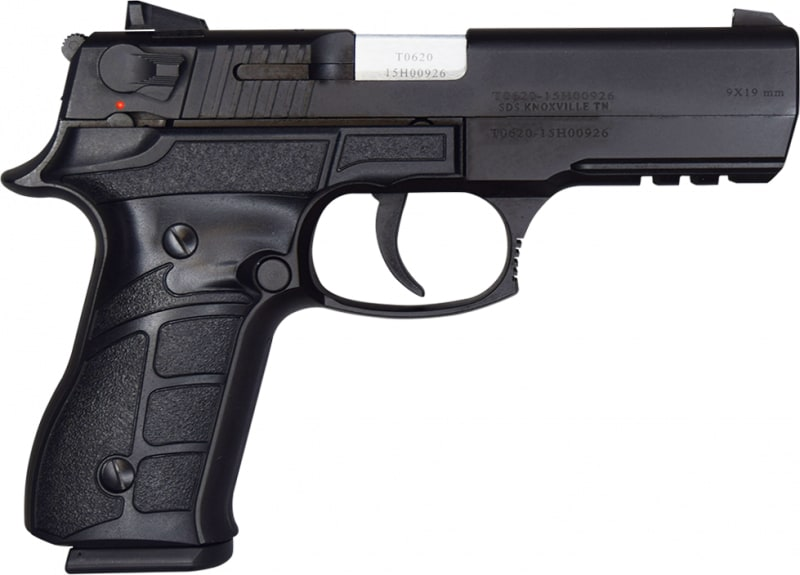 "Turkish ZIGANA F Semi-Auto Pistol - 9mm, 4.6"" BBL, Traditional Double Action, 2-15 Round Mags - New"