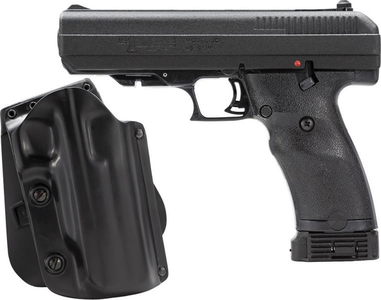 """Hi-Point 34010M5X 40 S&W Pistol, 4.5"""" Galco Kydex Holster Black Poly Grips Finish"""