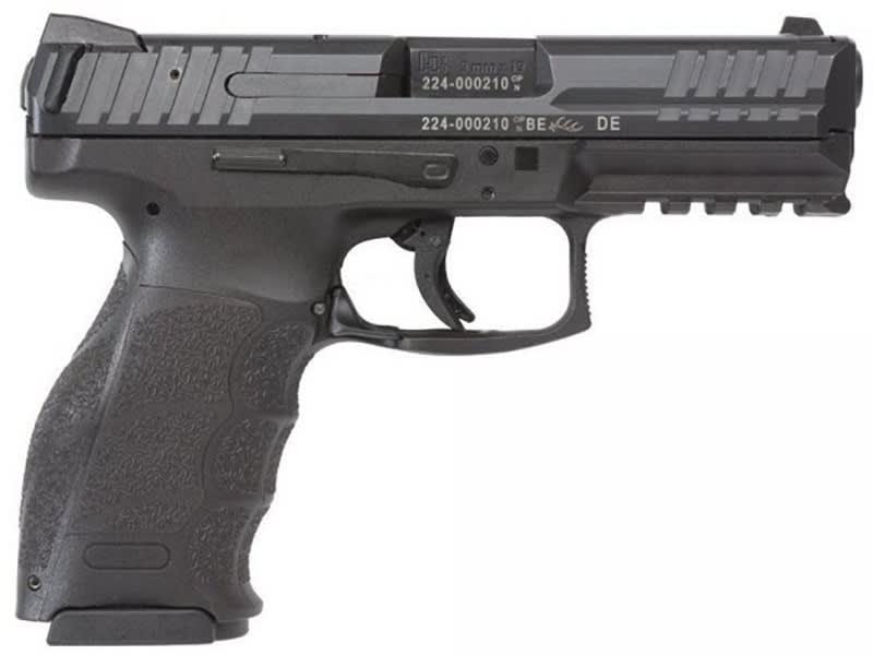 "HK VP9 Standard 9mm 4"" Barrel 3 Dot Sights 2-15 Rd Mags Black - M700009A5"