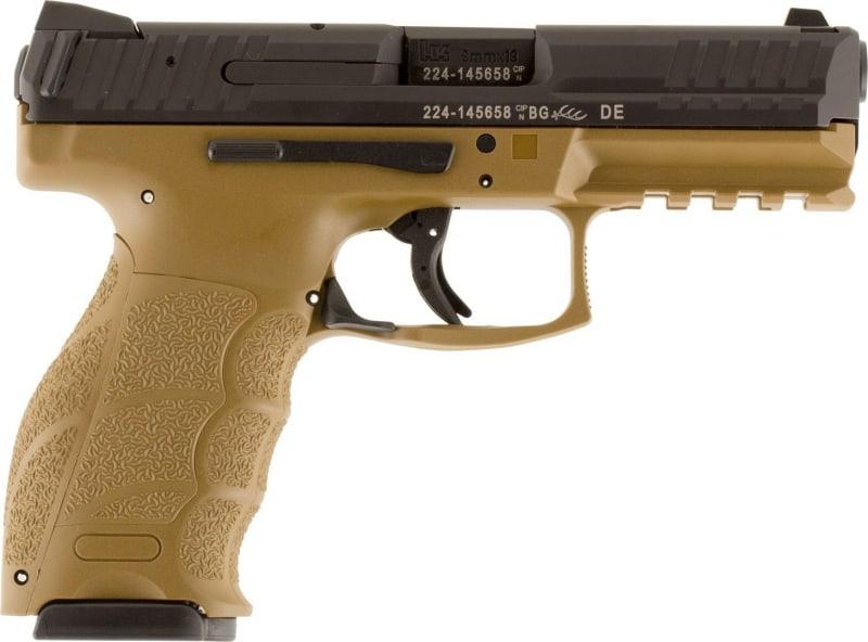 """Heckler & Koch VP9 9mm Pistol, 4.09"""" 15rd FDE - HK M700009FDEA5"""