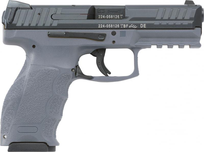 Heckler & Koch VP9 9mm Pistol, 4.09in Barrel 15rd Gray 3 Dot Sight w/ 2 15 Rd Mags - HK M700009GYA5