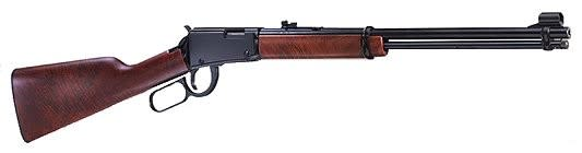 """Henry Magnum Lever .22 Magnum Rifle, 19.25"""" 12 Rounds Deluxe Checkered American Walnut - HRAC H001M"""