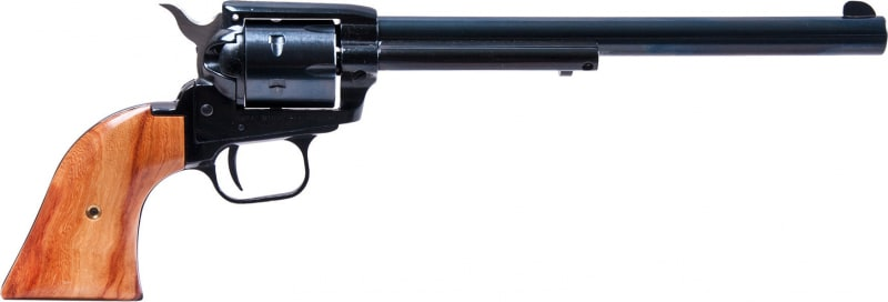 "Heritage Arms Small Bore Rough Rider 22LR/MAG Revolver, 9"" Blue - RR22MB9"