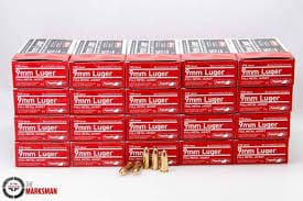 Aguila 9mm Luger Ammo 115gr Full Metal Jacket - 1000rd Case