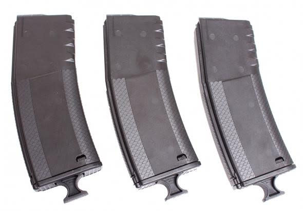 Troy Industries SMAG3PKBT00 30rd BattleMag, AR15 223/5.56/300BLK - Black - 3 Pack