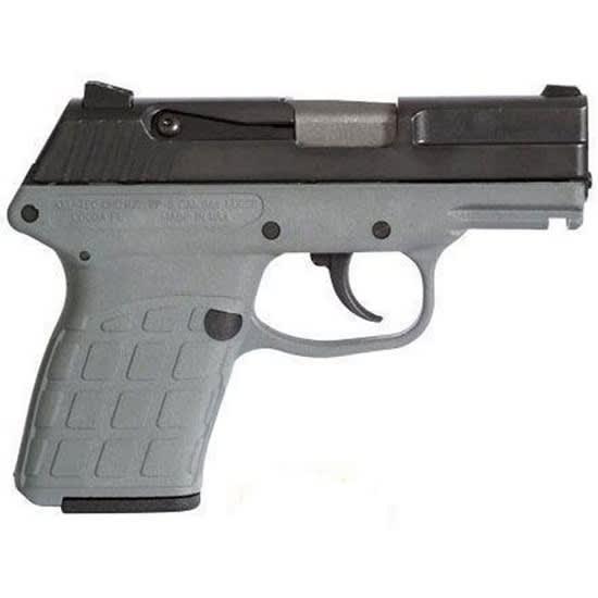 Kel PF-9 9mm Pistol, Blued Grey Frame 7rd - PF9BGRY