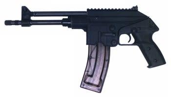 """Kel Tec PLR-22 22LR Pistol, 10"""" 26rd - PLR22BLK"""