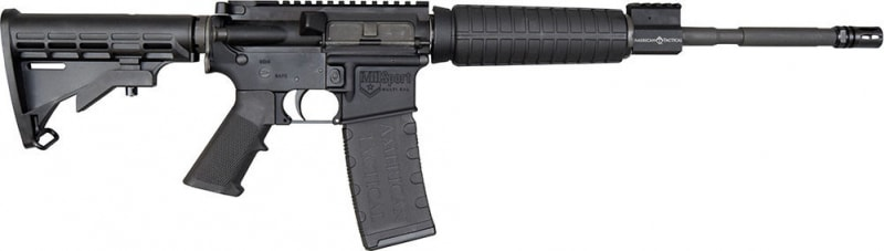 "American Tactical Imports AR15 2.23/5.56 MilSport 16"" M4 Flat Top G15MS556P3"