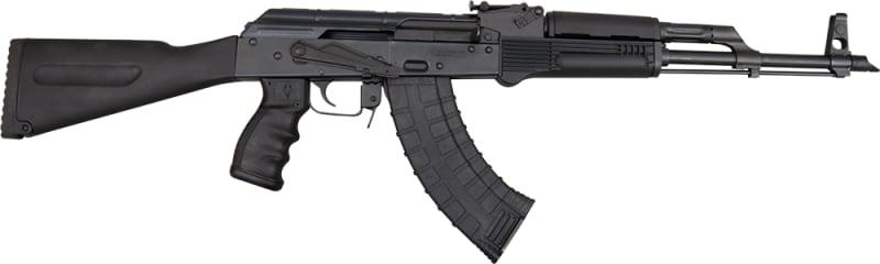 Pioneer Arms AK-47 Semi-Auto Rifle W / Original Polish Barrel and Receiver - 7.62x39 Caliber, W / 5 Mag Shooters Pkg....By James River Armory