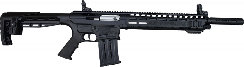 "AR-12 Semi Auto, AR-15 Style 12GA Shotgun by Panzer Arms of Turkey, 3"" Chambers"