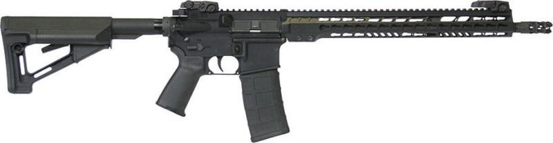 "ArmaLite M15TAC16 M-15 Tactical Rifle Semi-Auto .223/5.56 NATO 16"" FH 30+1 MBUS Magpul STR Hard Coat Anodized/Phosphate"