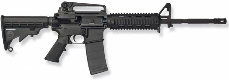"Bushmaster XM-15 A3 .223 Remington AR-15, 16"" M4 Patrolman's Carbine w/ Quad-Rail - 90831"