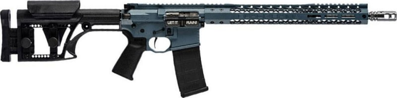"""Black Rain BROCOMP3GBLUTI16 Black Rain OrdnanceCompetition G3 Semi-Auto .223/5.56 NATO 16"""" 30+1 MBA-1 Blued"""