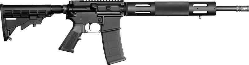 "Bushmaster 91053 XM-15 Carbine Semi-Auto 300 AAC Blackout/Whisper (7.62x35mm) 16"" HB 30+1 6-Position Black"