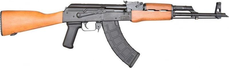 Century Arms Romanian GP WASR AK47, 7.62x39, Wood Stock, Muzzle Brake, 30 Rd Magpul Mag- CENT RI1805X
