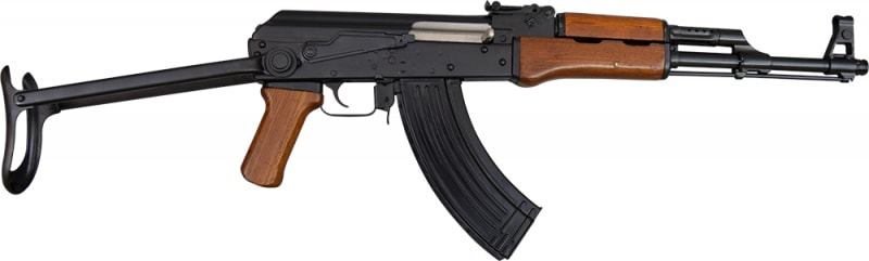 Chinese Arsenal 66 AK-47 Type 56 Rifle, 7.62x39, Underfold, w/ New U.S. Barrel and Receiver by James River Armory
