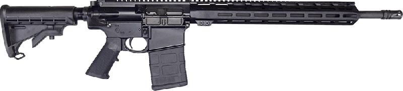 """Del-Ton Alpha Semi-Auto AR-10 Optics Ready .308WIN/7.62X51 NATO 20rd 18"""" Barrel 15"""" M-LOK - OR3FTH18-M"""