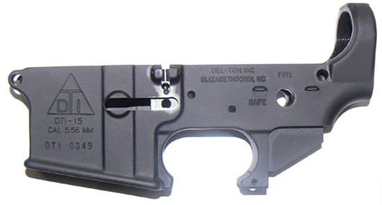 Del-Ton AR-15 Stripped Lower Receiver - LR100