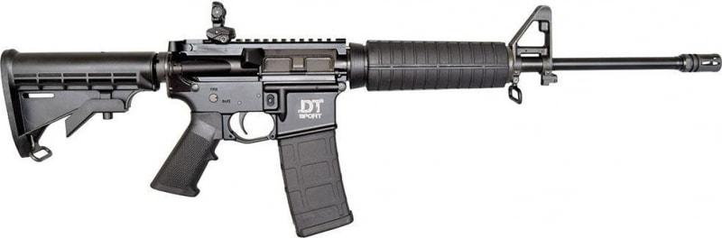 Del-Ton Sport Mod 2 AR-15 Rifle with Fab Defense Rear Sight, .223 / 5.56, 30rd Mag- DTSPORT-M2