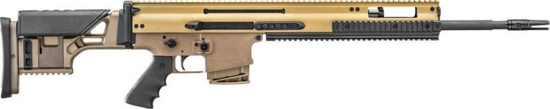 """FN 38996 Scar 20S .308 20"""" 10rd Flat Dark Earth"""