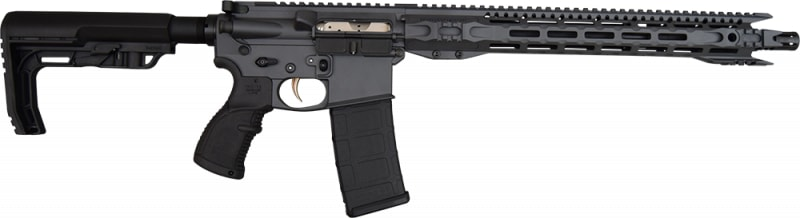 Fostech Fighter Lite 5.56 AR15 Rifle with Echo Trigger - Sniper Grey