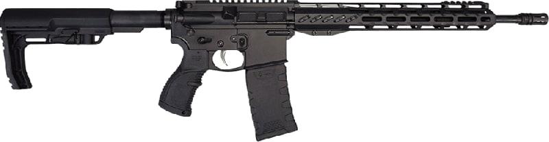"Fostech Phantom Premium Light Weight 5.56 AR15 Rifle with Echo Trigger Installed - 13"" Mach II Rails - Graphite Black Finish"