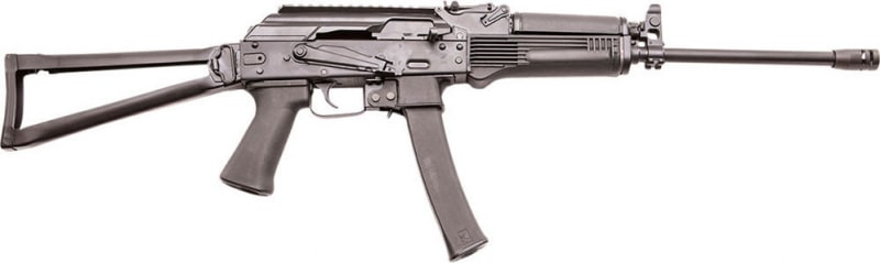 "Kalashnikov USA KR-9 Semi-Auto 16.25"" 30+1 Folding Black"