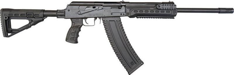 "Kalashnikov USA AK47 12G Shotgun, 18.25"" Barrel, Collapsible Stock, Black, 10rd - KS-12T"