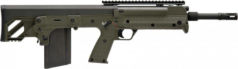 Kel-Tec RFB18GRN Forward Ejecting Bullpup, RFB 7.62 NATO Caliber, Green