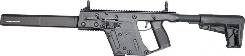 """Kriss Vector CRB G2 45 ACP Rifle, 16"""" 13rd Black - KV45CBL20"""