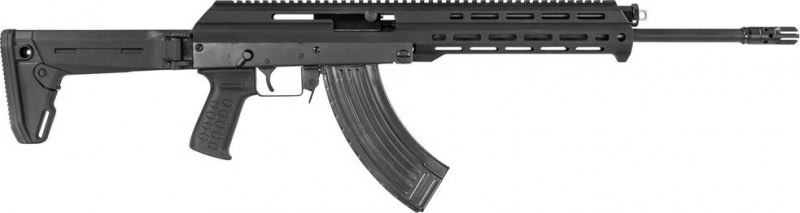 M+M Inc. M10X762Z M10X Elite Zhukov Edition Rifle - 7.62x39 16.5 Barrel, W / 30 Round Mag - Black Magpul Edition.