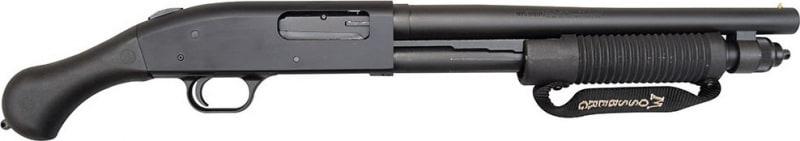 Mossberg 590 Shockwave 12GA, 14in 6rd Black w/ Birds Head-Style Pistol Grip 50659