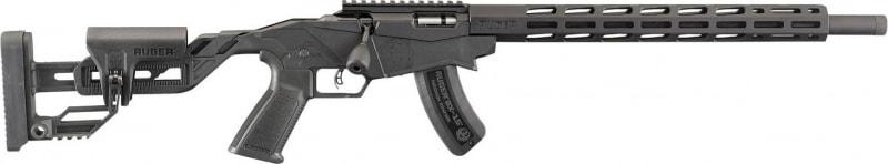 """Ruger 8405 Precision Rimfire 18"""" Threaded Barrel Matte 9-SHOT"""