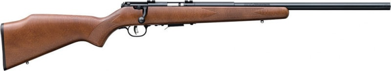 "Savage Arms 93R17 GV 17HMR Rifle, 21"" Detachable Box Carbon Steel - 96701"