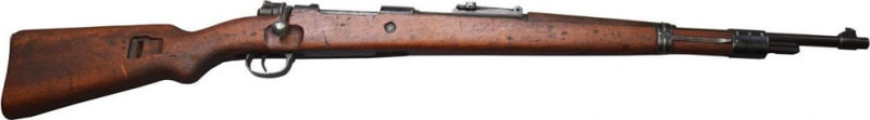 M98/48 Mauser, 8 MM 5 Round Bolt Action, Turned Bolt - Made in Germany - M44 Preduzece- Surplus Turn In Condition