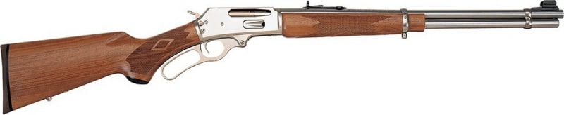 "Marlin Firearms 336SS 30-30 Rifle, 20"" 6rd Stainless Steel Walnut - Marlin 70510"
