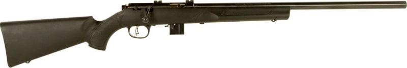 """Marlin Firearms XT-17VR 17HMR Rifle, 22"""" NS Heavy Black Synthetic Scope Mounts - 70721"""