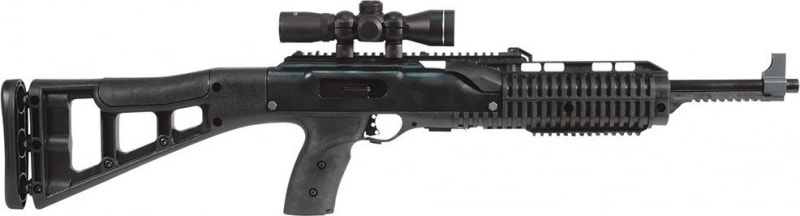 "MKS Hi Point 9mm Rifle, 16.5"" Target Stock 4X Scope - 995TS4X"