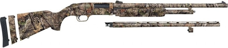 Mossberg 500 20GA Shotgun, SPR Bantam Camo Field Deer Adjustable Lop - 54215