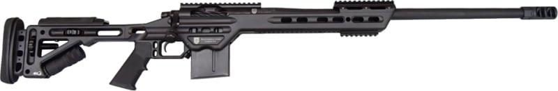 """MasterPiece Arms 65MMBA Bolt Action 6.5 Creedmoor 24"""" 10+1 Adjustable Black Cerakote"""