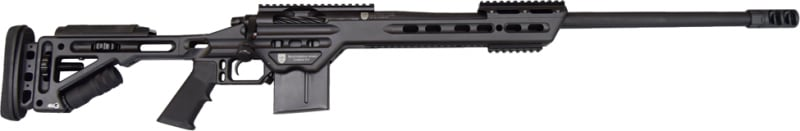 "MasterPiece Arms 65MMBA Bolt Action 6.5 Creedmoor 24"" 10+1 Adjustable Black Cerakote"
