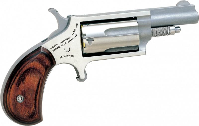 North American Arms .22 Magnum Mini Revolver, 1 5/8 Barrel - 22M