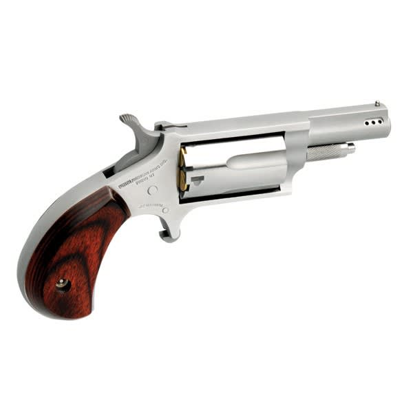 "North American Arms 22MP .22 Magnum Revolver, 1.63"" Rosewood Stainless - 22MP"