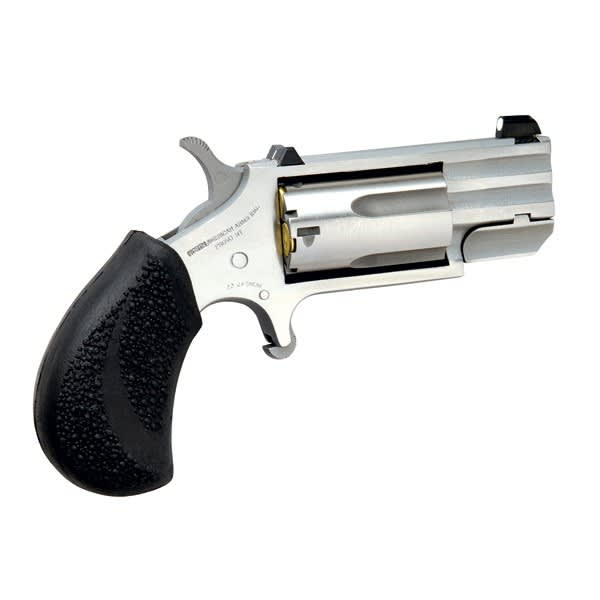 "North American Arms PUGDP .22 Magnum Revolver, 1"" Black Polymer Stainless - PUGDP"