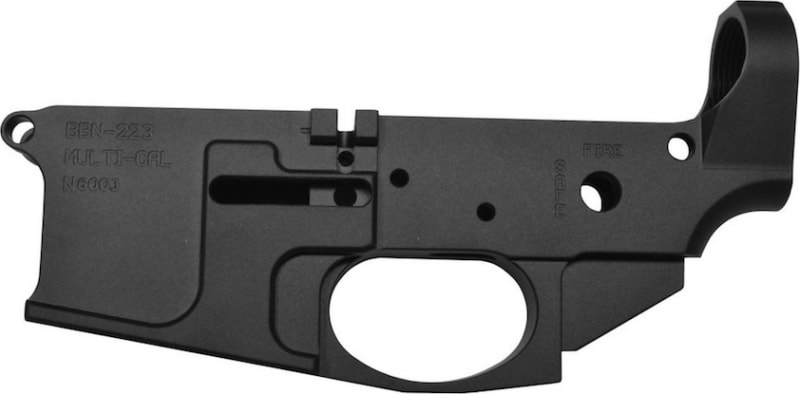 Noreen Firearms Billet Stripped Lower Receiver BBN223