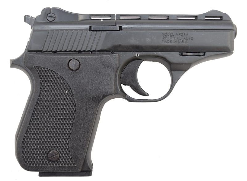 "Phoenix Arms HP22A Pistol, 22LR, 3"" 10rd Black / Black - Made In USA"