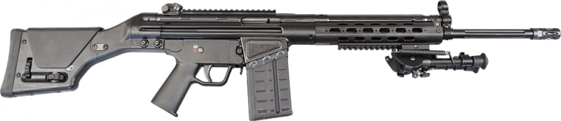 "PTR 91 MSG .308 WIN RIFLE 18"" Fluted Barrel - H & K 91 Type Roller Block Semi-Auto Rifle Item # 106"
