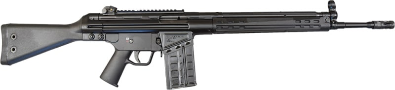 "PTR 91 A3S .308 WIN RIFLE 18"" G.I. Profile Barrel - H & K 91 Type Roller Delayed Blowback Semi-Auto Rifle, 20rd Mag Item # PTR-109"