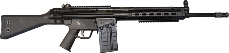 "PTR 91 SC .308 WIN RIFLE 16"" Match Grade Fluted Bull BBL. - H & K 91 Type PTR 103"